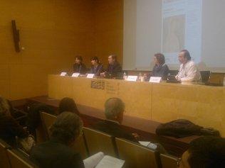 Els ponents de la segona taula de l'acte