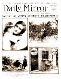 Izvestavanje Daily Mirrora decembra 1926.
