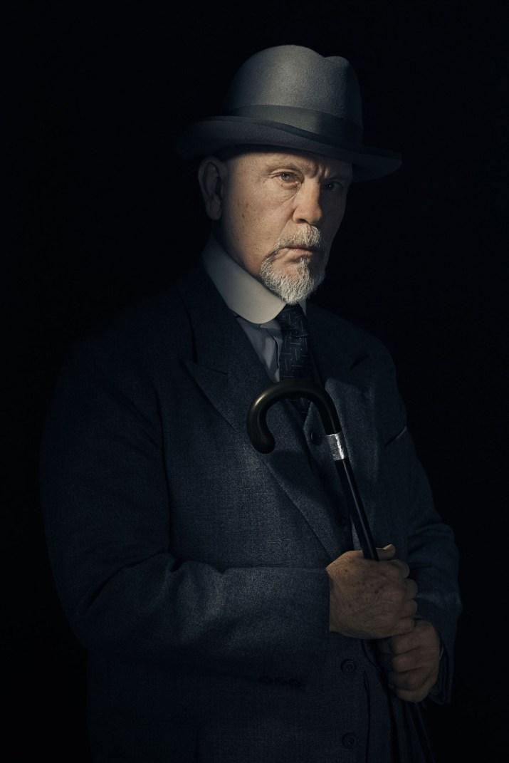 prvi pogled John Malkovich kao Hercule Poirot