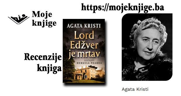 Moje knjige - Recenzija knjige: Lord Edžver je mrtav