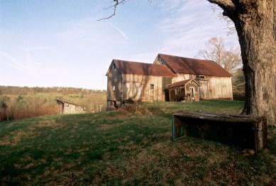 Guyette barn in setting. Phote courtesy Dario Coletta