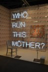 neon art art basel miami beach convention center 2015 who run this mother