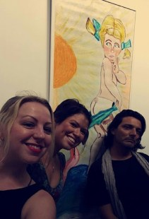 marcello ibanez chalk art gallery exhibit wynwood miami