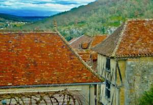 Cezanne colors Saint-Cirq-Lapopie France art photography from AgathaO.com