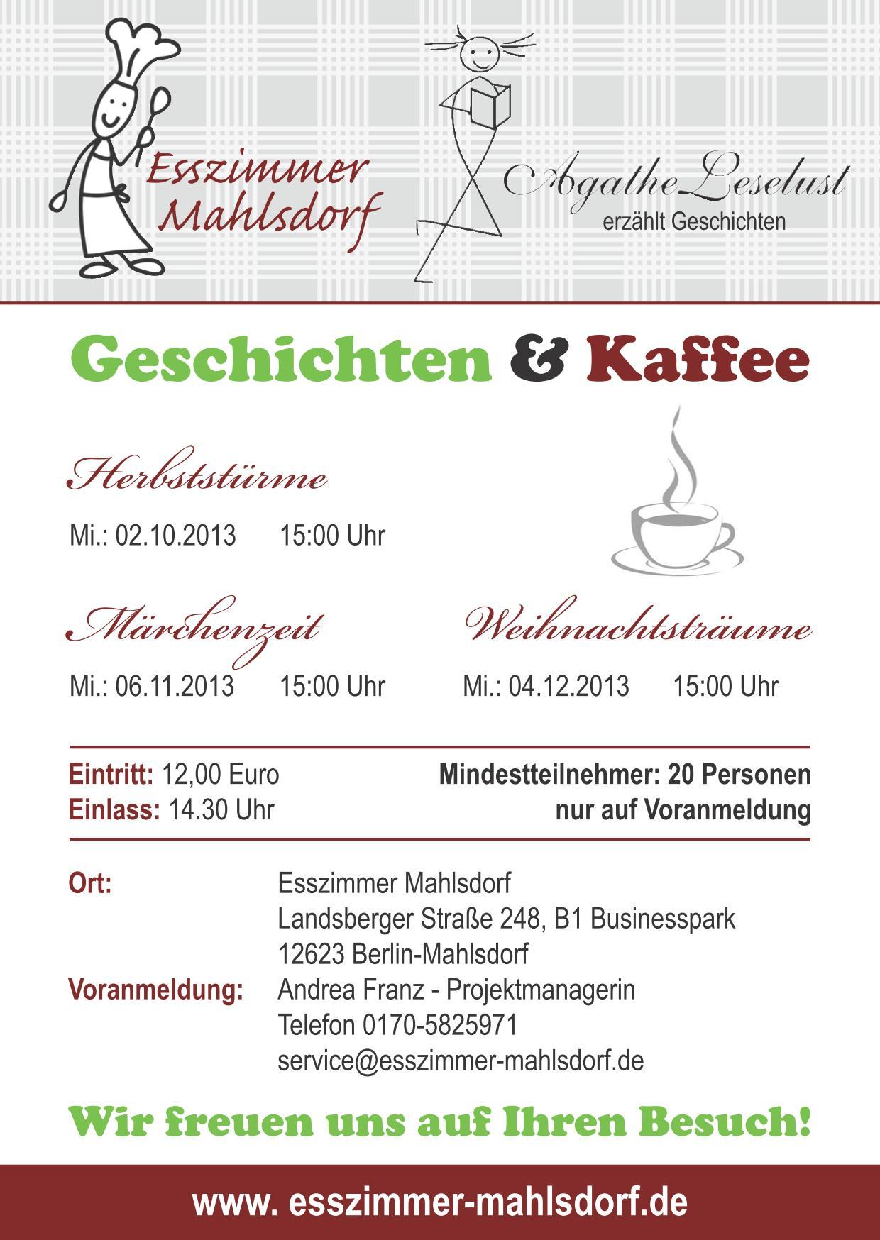 Kuche Aktiv Berlin Mahlsdorf