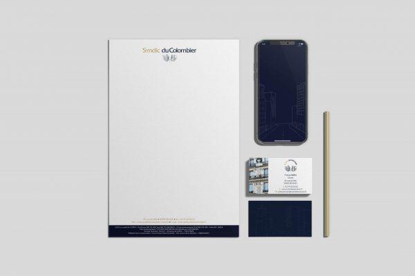 Syndic du colombier - identité visuelle - Agathe Design Studio