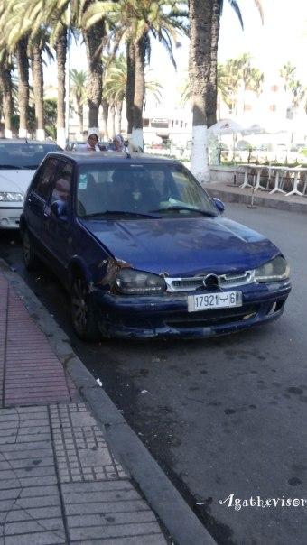 Conduire à Casablanca avec des véhicules usagés