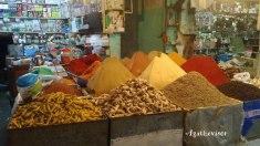 Etal des épices au souk