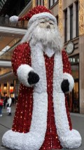 Berlin-Mall of Berlin-Pere Noel