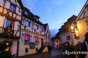 Eguisheim-Maisons alsaciennes décorées