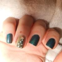 Mes ongles de Noël ! (quoi ? on est en janvier ?)