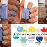 Julie Vernie et les couleurs du printemps #5