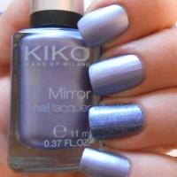 Bleu galaxie & bleu glycine... mes ongles carrés de retour !