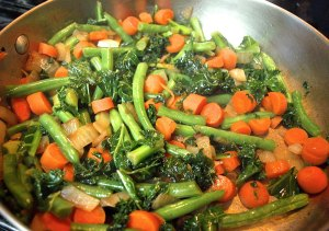 green-beans-kale-carrots