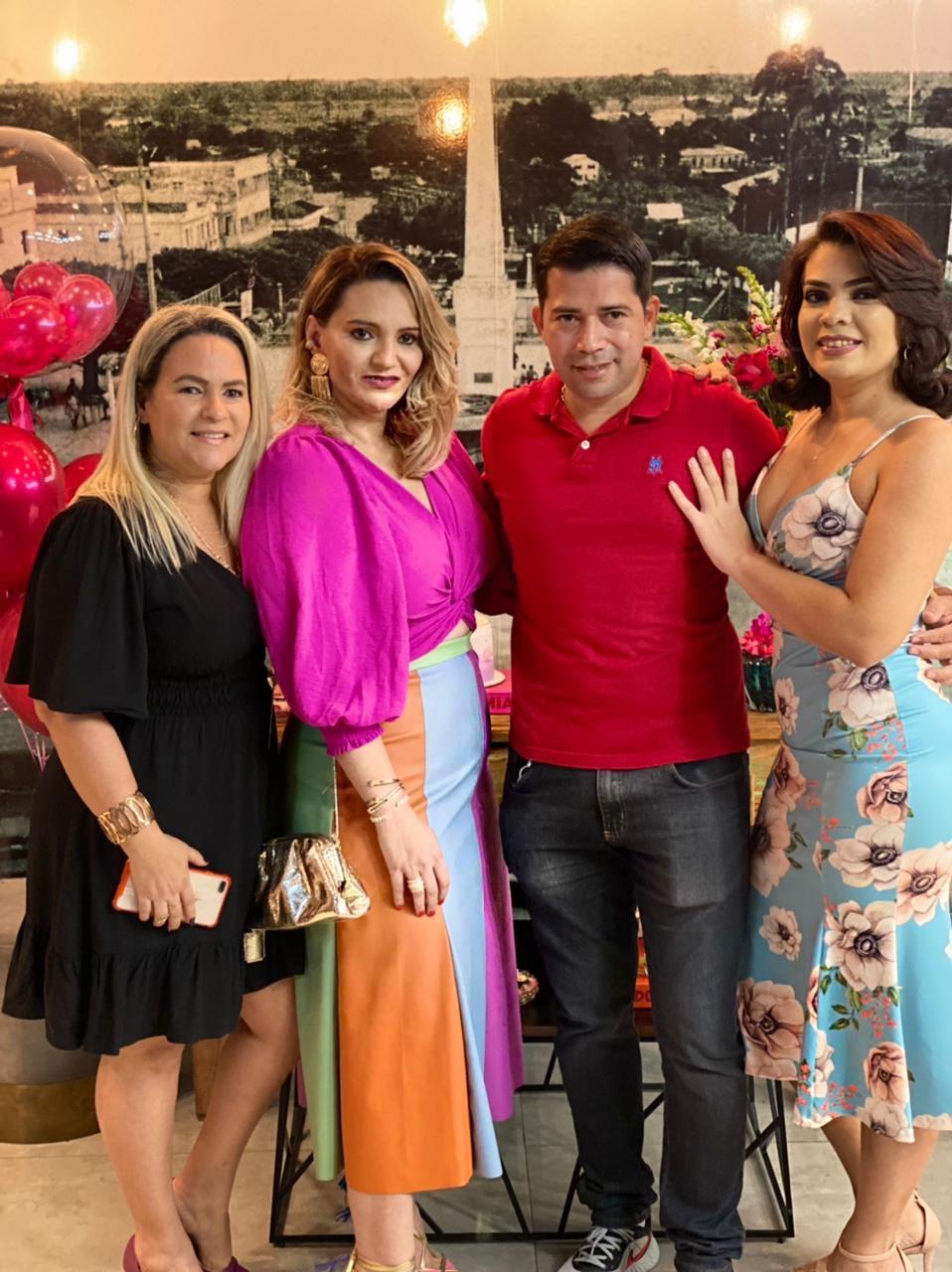Roberta Gusmão, Geraldo Macêdo e Andreia Martins.