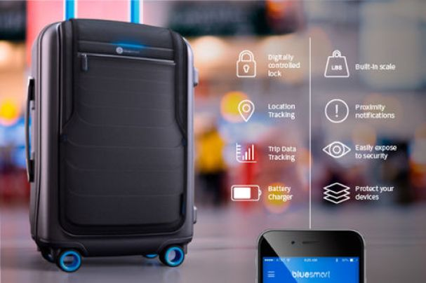 Image result for smart luggage