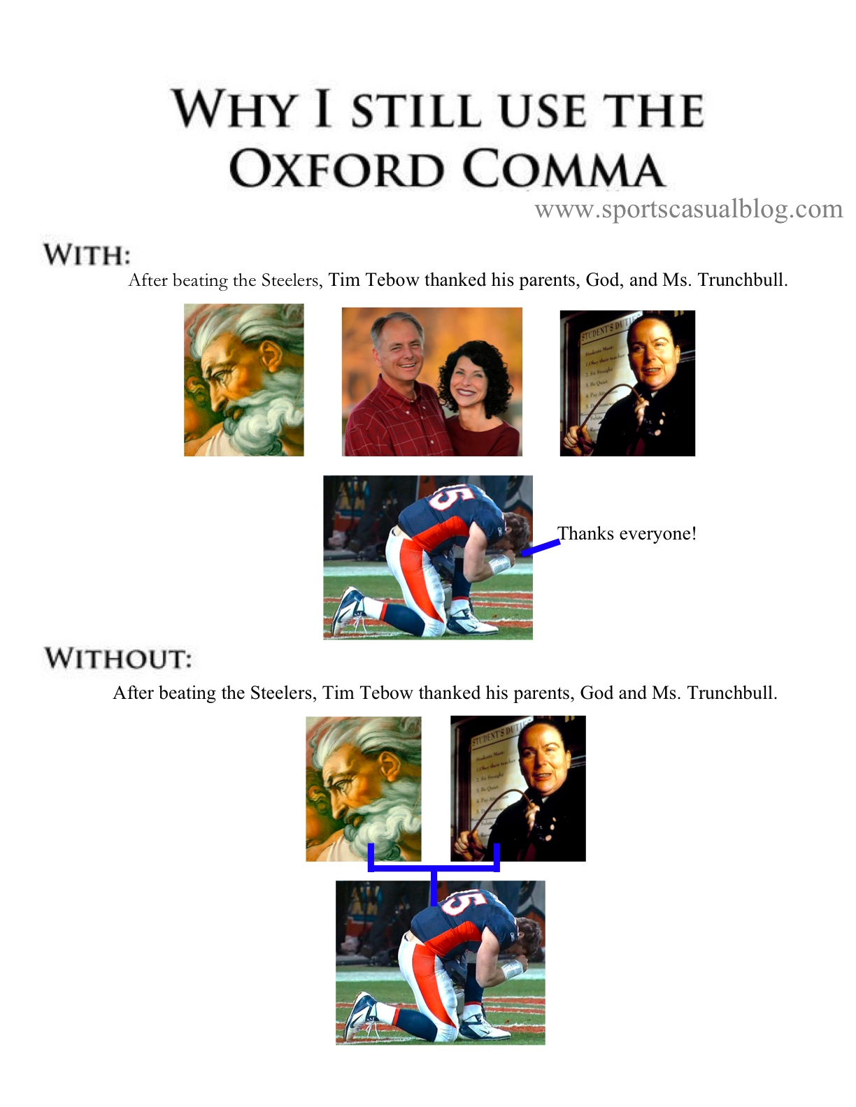 The Case For Using The Oxford Comma