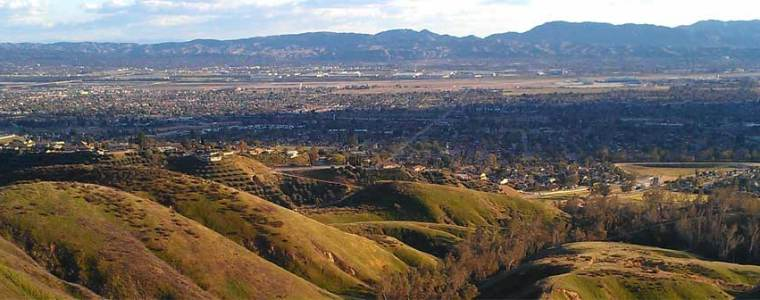 Image of land area in San Bernadino County