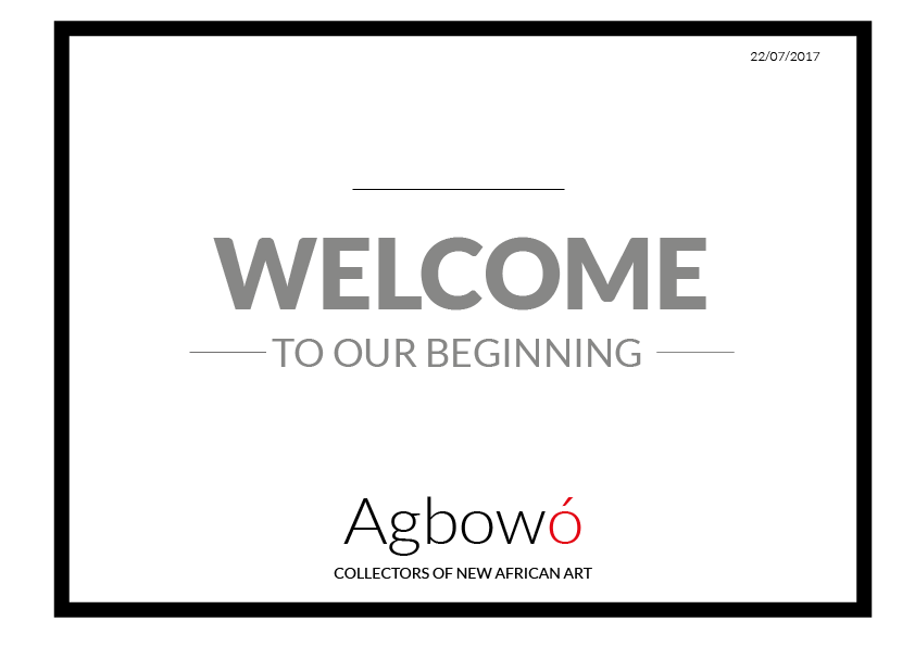Welcome To Agbowo banner