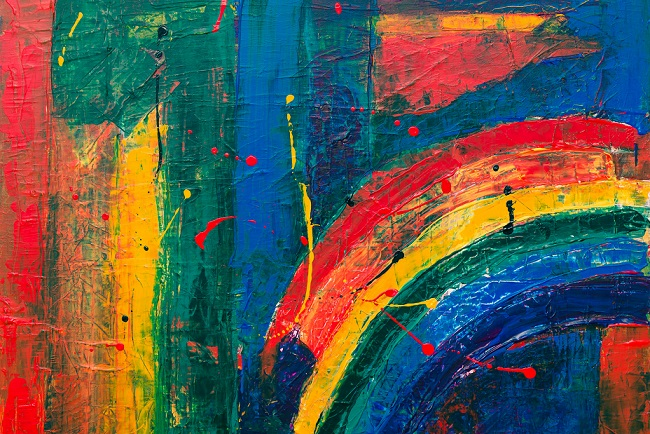 Finding your Rainbow Ernest Ogunyemi Agbowo Art Literary African Art