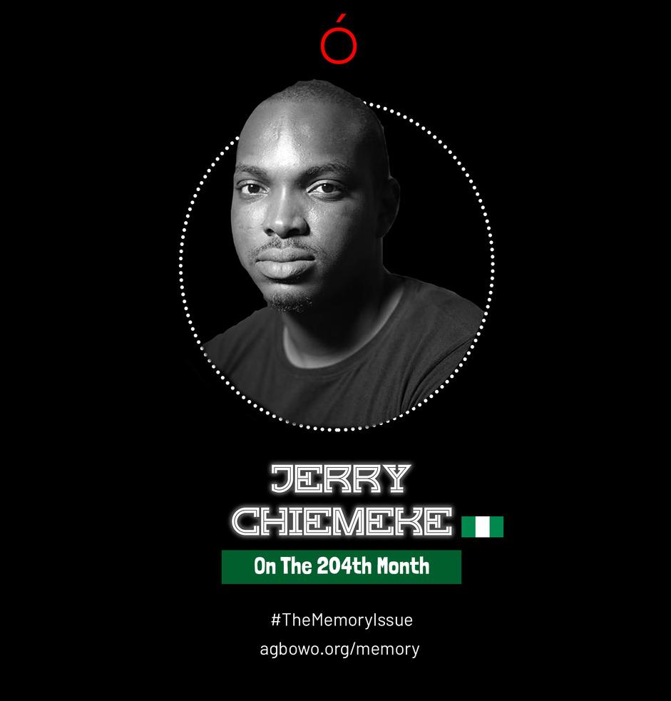 Jerry Chiemeke The Memory Issue Agbowo Art Magazine