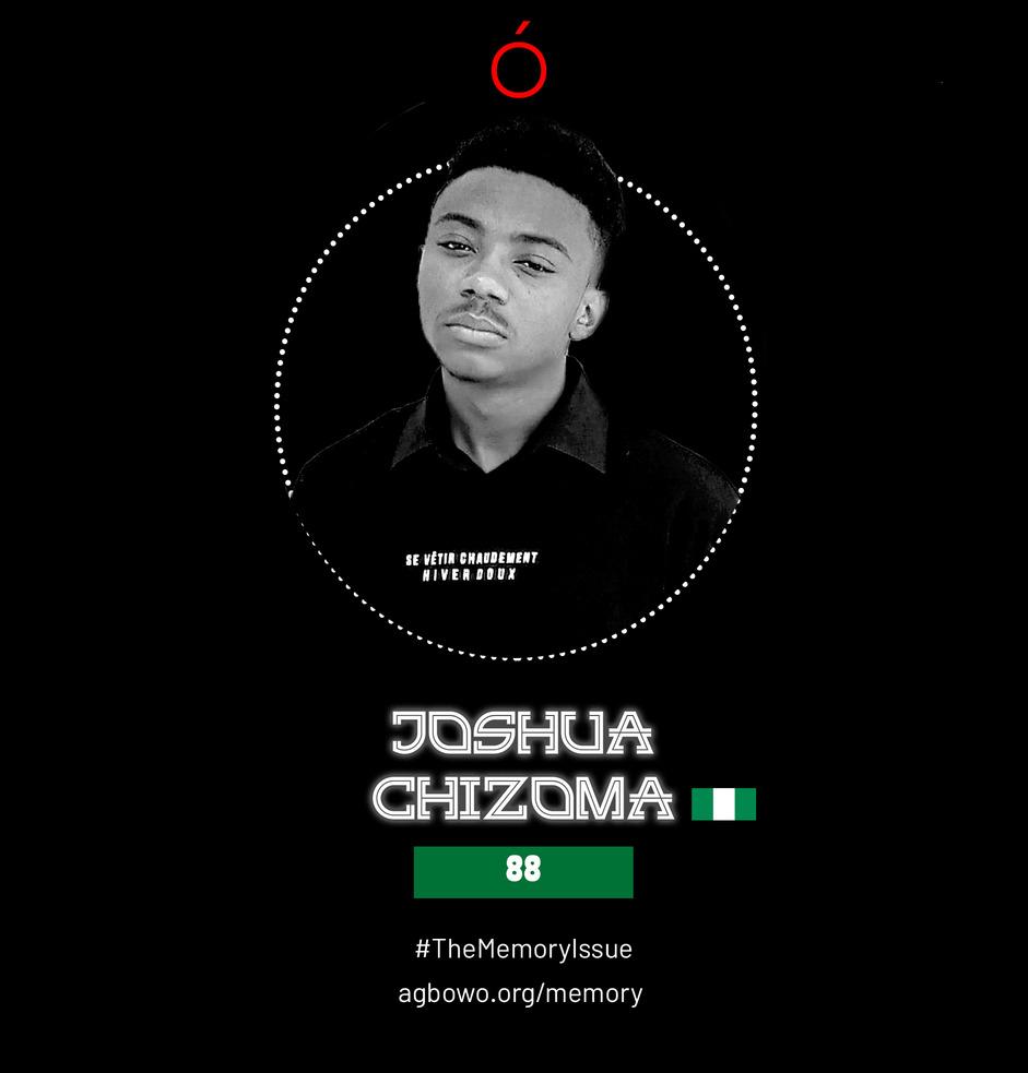Joshua Chizoma The Memory Issue Agbowo Art Magazine