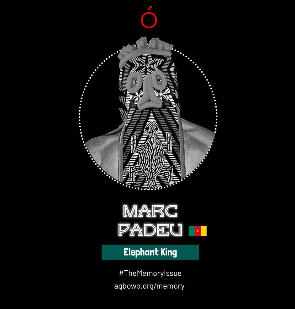 Marc Padeu The Memory Issue Agbowo Art Magazine