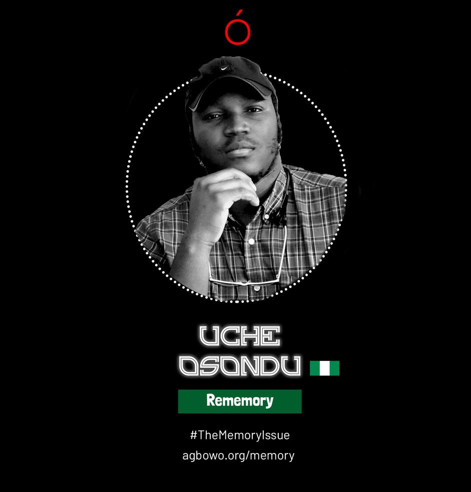 Uche Osondu The Memory Issue Agbowo Art Magazine