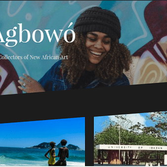 Agbowo Website Publications