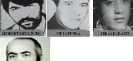 Maraş Katliamında Hayatını Kaybedenler
