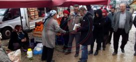 Nurhak'ta HDP`nin seçim çalışması