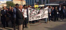 Elbistan'dan Kobanê'ye destek eylemi