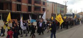 ''Kardan Kadın'' soruşturması Nurhak'ta protesto edildi!