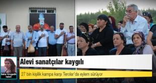 27 bin kişilik kampa karşı Terolar'da eylem sürüyor