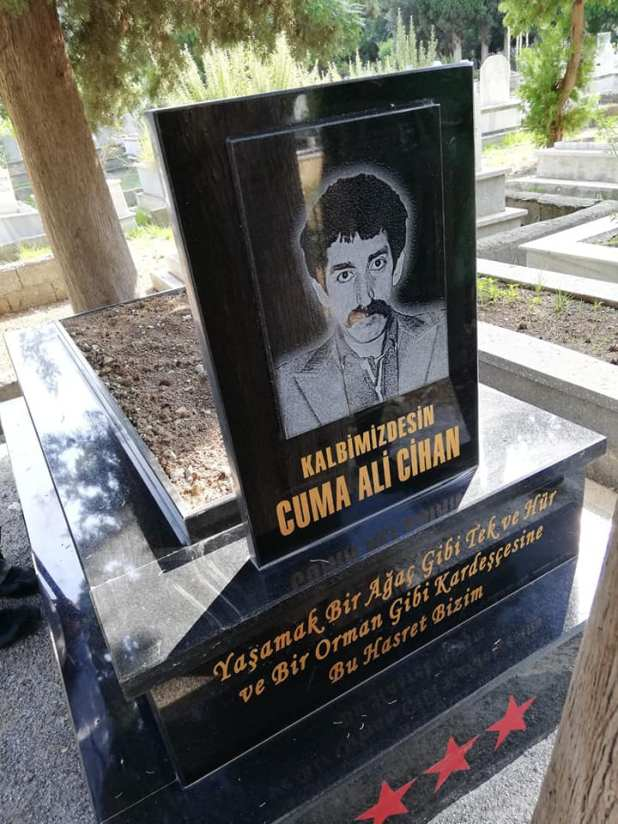 Cuma Cihan ve yoldaşları mezarları başında anıldı