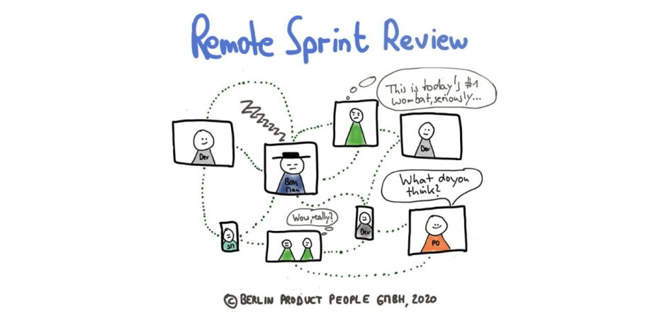 Remote Sprint Review with Distributed Teams — Remote Agile (Part 7) — Age-of-Product.com