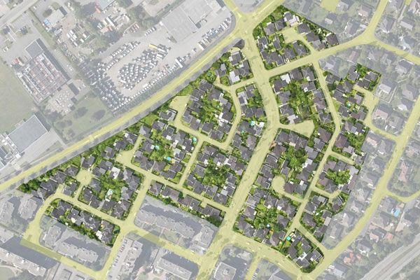 Hoenheim : lotissement Les Bruyères