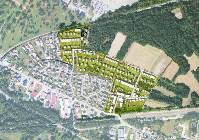 Plan masse indicatif du secteur Binsen