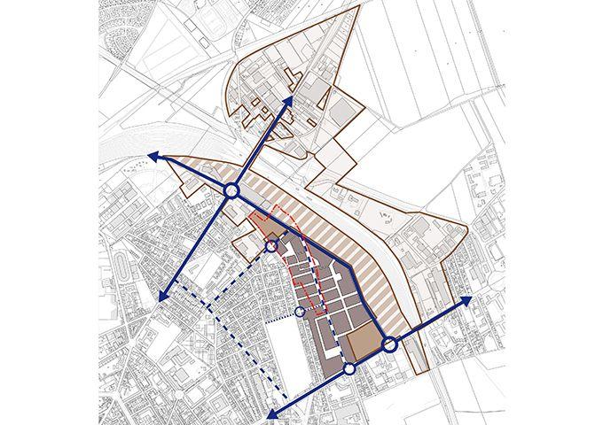 Intégration urbaine de l'aménagement à terme