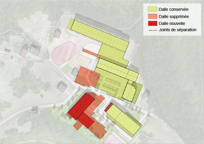 Xertigny : Dallage, confinement et gestion de la pollution
