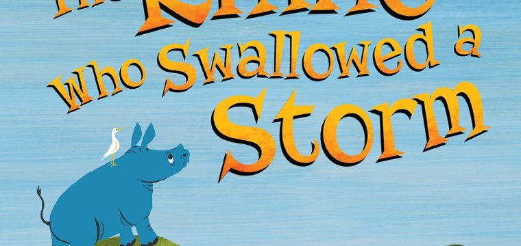 "LeVar Burton's New Book, ""The Rhino Who Swallowed a Storm"""