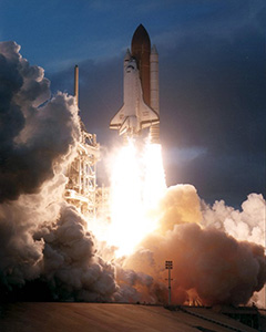 STS-74 Launch to Mir (1995)