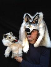 Arthur Geesing, Wolfje persfoto