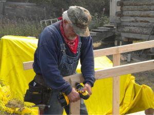 volunteer building ramp