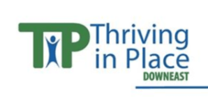 Thriving in Place Downeast Logo