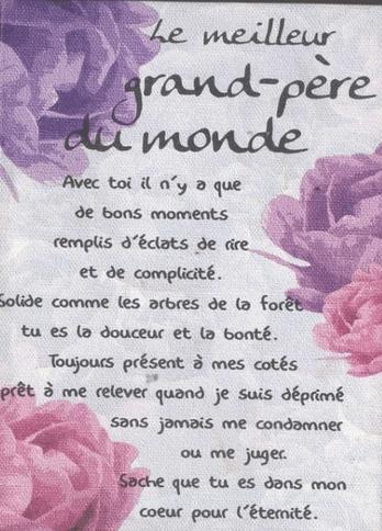 Texte Pour Son Grand Pere Decede : texte, grand, decede, Message, Anniversaire