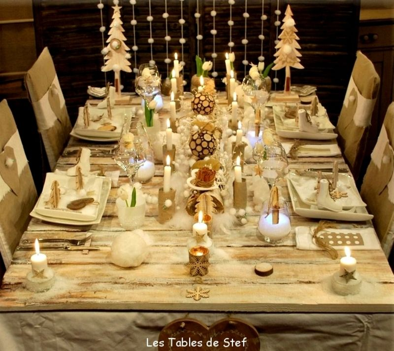 Decoration Table Noel Simple