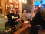 Barista Training at the Noble Tree Ageing Well Festival