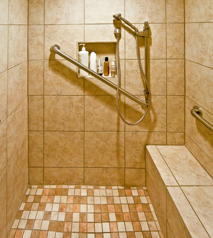 Aging In Place Bathrooms  Home Ideas For Eldery Seniors