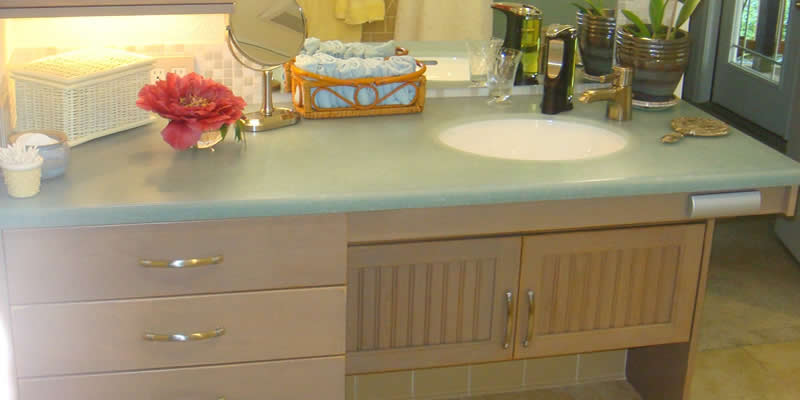 Accessible Bathroom Counters